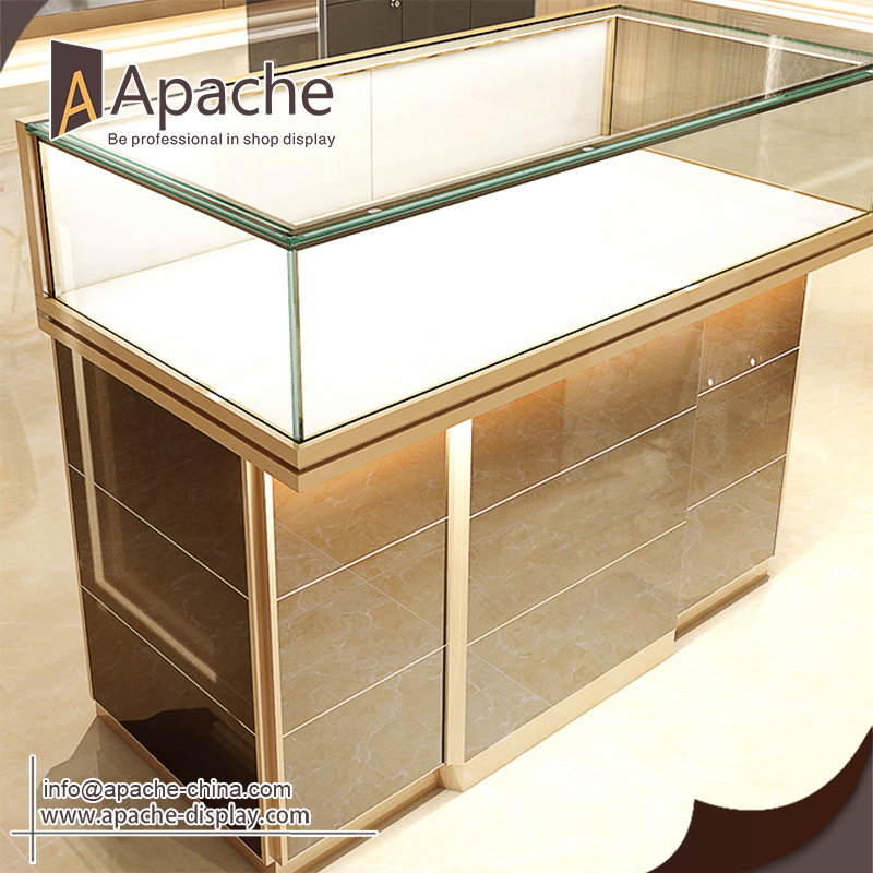 Custom store display cases