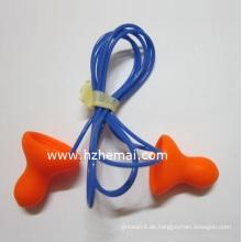 Wired Bell Einmal-PU-Schaum Ohrstöpsel