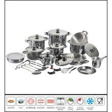 32 PCS Stainless Steel Saucepan Set