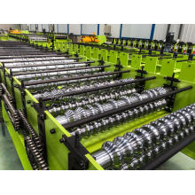 Corrugated roof production sheet roll forming machine