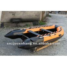 Popular rigid hull fiberglass inflatable boat 360 with CE