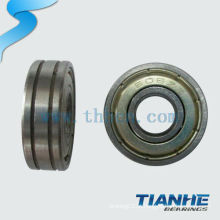 Chrome steel / gcr15 bearing 608 rolamento de patim