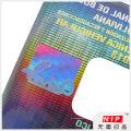Hochleistungs-Anti-Fälschungs-Laser-Nummerierung Hologramm Etikett