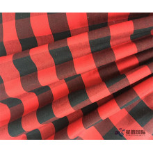 Cotton Check Fabric Benang Fabric Dyed For Shirts
