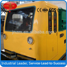 12 MTs double cabs battery locomotive for underground coal mines double cabs battery locomotive