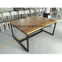Customized Company Dining Room Table for 6 Person (FOH-RDT1)