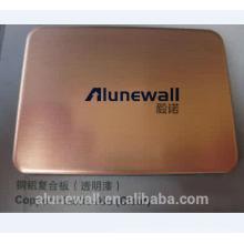 Painel composto de cobre da prova do tempo da alta qualidade de Alunewall com melhor preço
