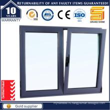 2016 Двойное остекление Алюминий / Алюминиевый наклон и раздвижные раздвижные окна