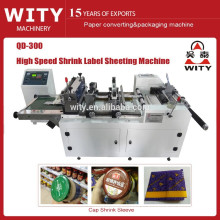 2015 Shrink Sleeve Label sheeting Machine price