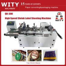 2015 Shrink Sleeve Label sheeting Preço da máquina