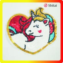 Best quality and factory for Applique Sequin Patches Hot sale OEM high quality sequin patch export to Indonesia Wholesale