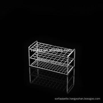 stainless steel test tube rack /centrifuge tube rack 6/8/10 holes