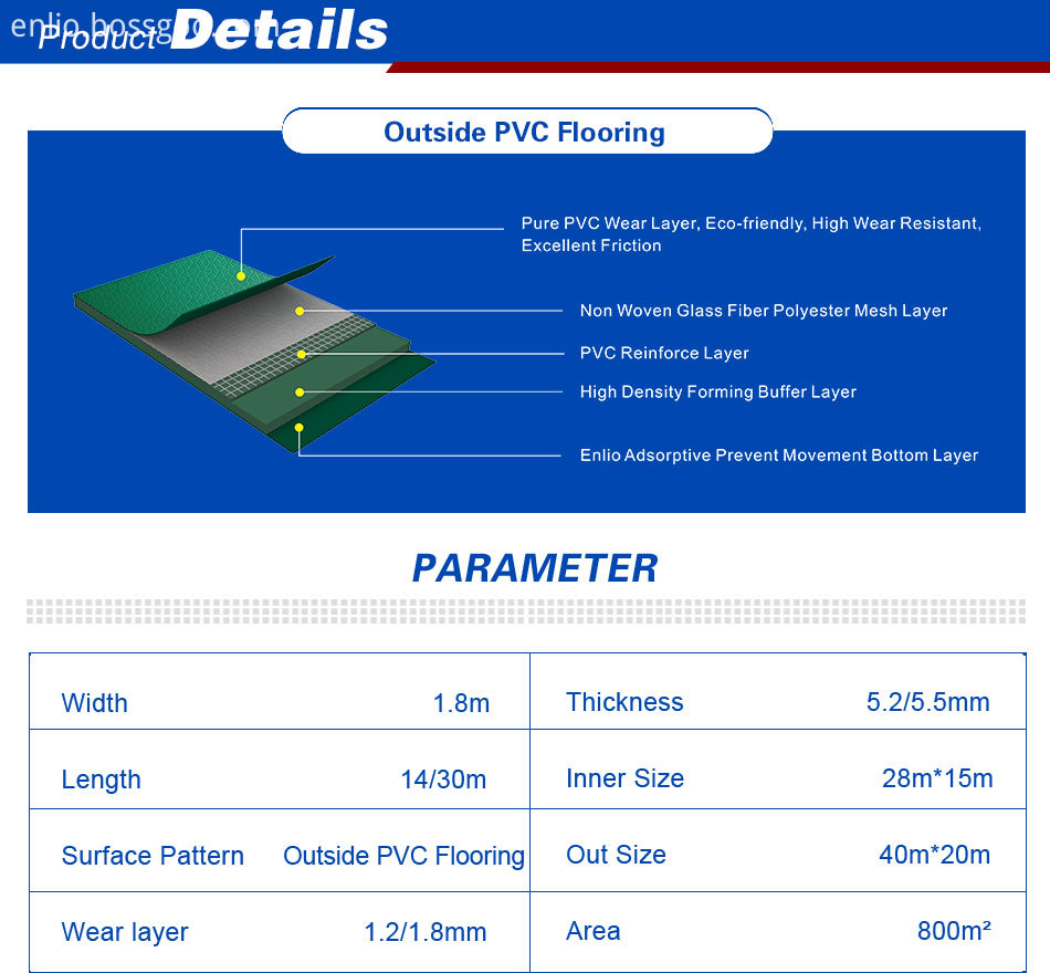 Outdoor Pvc Flooring