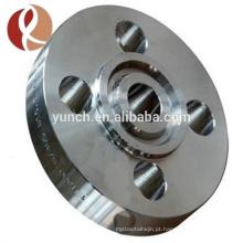 Asm b381 flange de titânio de alta qualidade f2 titanium flange de pescoço de soldagem