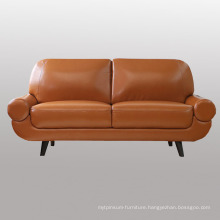 New Design Wooden Leather Sofa for Home