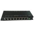10/100M 8 port LAN 8 port 12v output poe injector and splitter