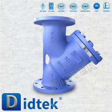 Filtro de aço fundido Didtek Trade Assurance DIN