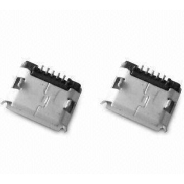 Micro USB 5P (Dip Shell) com Post