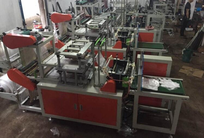 glove bag making machinery
