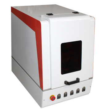 high accuracy mini enclosed silver bracelet fiber laser marking machine