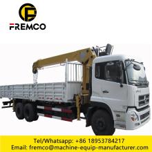 6X4 10 Ton Hydraulic Truck Mounted Crane