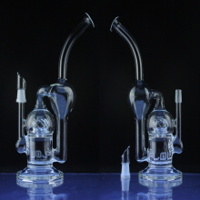 Wholesale Sci Recycler Vapor Pipe for Tobacco with Perc (ES-GB-023)