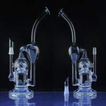 Venta al por mayor Sci Reciclador Vapor Pipe para tabaco con Perc (ES-GB-023)