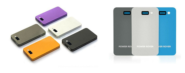 Slim Lithium Polymer Battery Power Bank