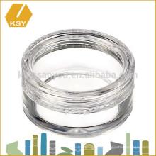 Горячая продажа пластиковый контейнер 5 мл косметические jar