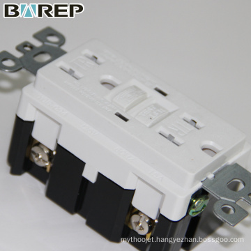 BAREP Duplex GFCI receptacle industrial plug and socket