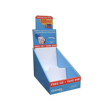 Advertising Cardboard Counter Display Stand, Paper Display