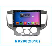Navegación del GPS del coche del sistema del androide para Nissan Nv200 con Bluetooth / TV / WiFi / USB