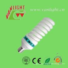 T6 105W CFL espiral completa luzes alta potência