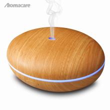 En gros Amazon Vente Chaude Diffuseur D'huile Essentielle Lumière Bois Grain Aroma Diffuseur