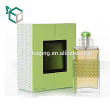 Beautiful Paper Perfume Round Packaging Elegant Paper Box With Logo