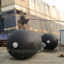 ISO Approved Pneumatic Floating Inflatable Marine Boat Rubber Fender
