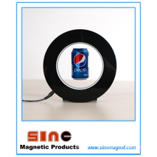 Kreative Adversting Magnetic Float Frei schwebende Anzeige mit LED