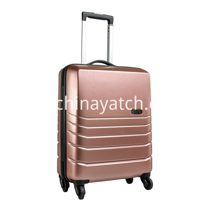 Rose Gold 55x40x20cm-spinner-cabin-case