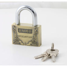 Zinc Alloy Arc Shape Atom Padlock