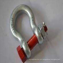 G2130 Us-Typ geschmiedete Stahl Schäkel