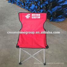 Boa qualidade lona Camping barato dobradura cadeira, cadeira dobrável