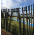 Garden steel palisade fence Factory Supply sale