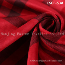 Print and Golden-Plating  Suede Fabric Escf-53A