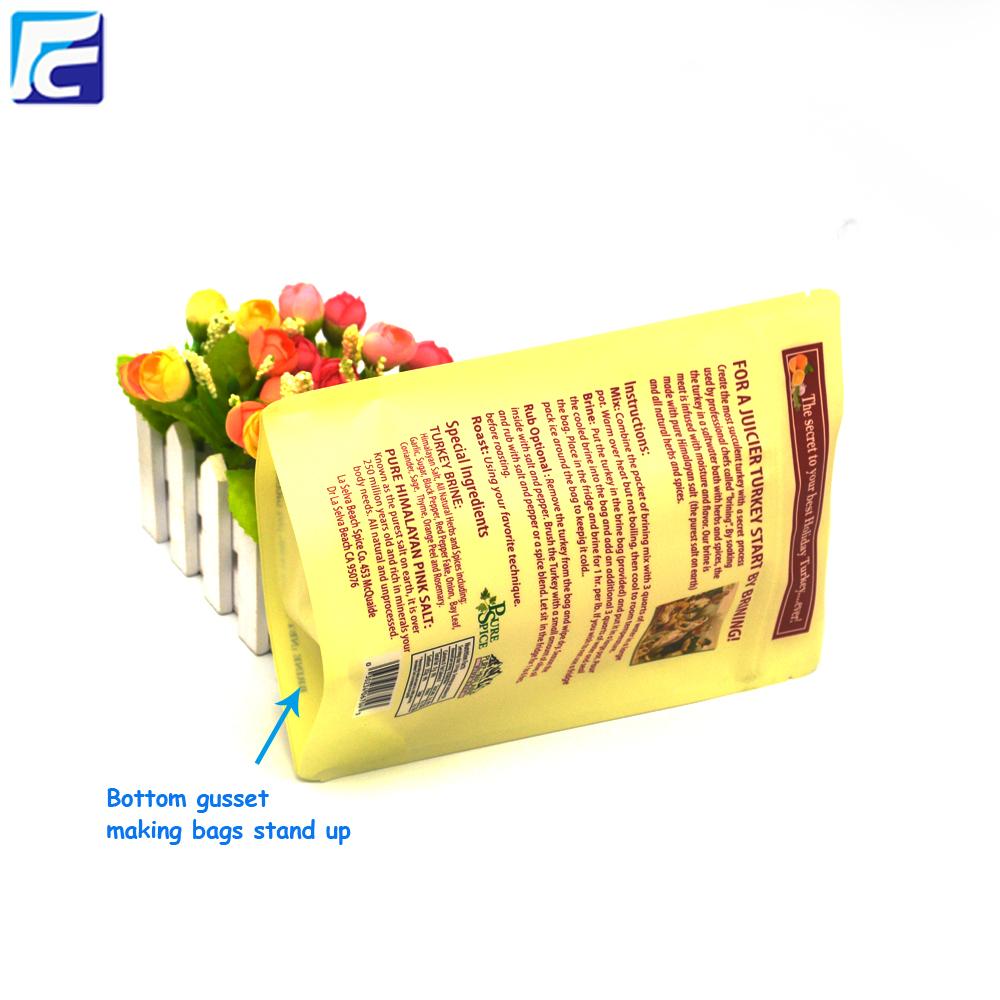 Food Packaging Ziplock Pouch