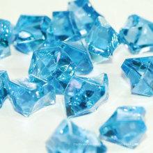 Granules de glace acrylique colorés à la taille personnalisée