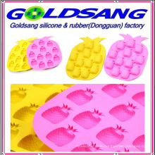 Pineapple Shape Silicone Ice Tray Mould Chocolate Mould