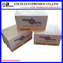 Bloco de notas de madeira de bloco de notas Sticky para promoção (EP-P7158)