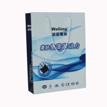 Kundenspezifischer Druck-hoher Qualitätspapiereinkaufsgeschenk-Beutel mit Logo