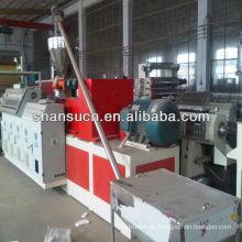 Cadena de producción de extrusión de Perfil de PVC madera-plásticos