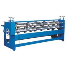 Máquina rotativa de hendidura y hendido